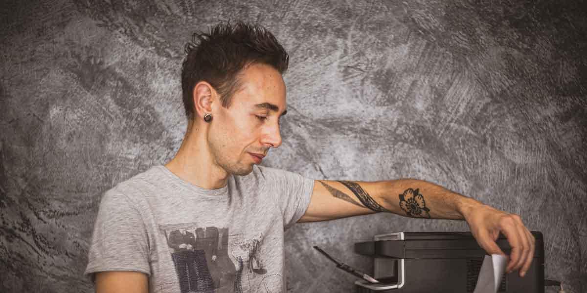Luca Braidotti tatuatore e pittore di Udine