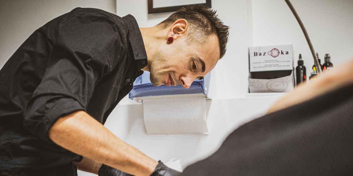 Luca Braidotti tatuatore di Udine