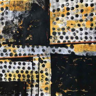 Pittura astratta serie Collettività #1