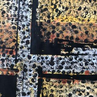 Pittura astratta serie Collettività #2